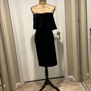 Misguided Velvet Dress
